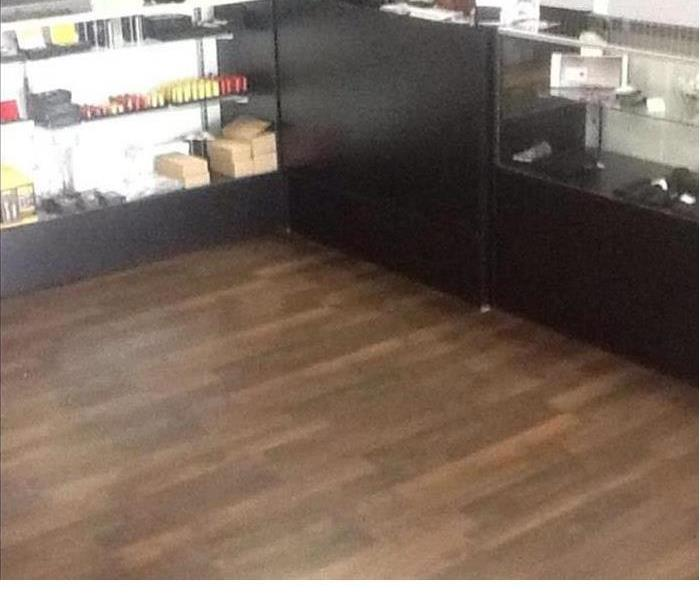 new laminate flooring in a store