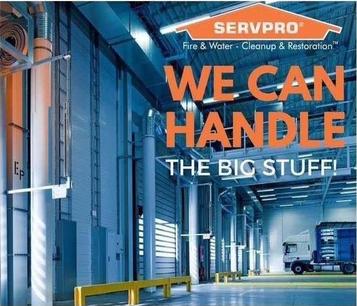 No Job is Too Large for SERVPRO of NW Ventura County